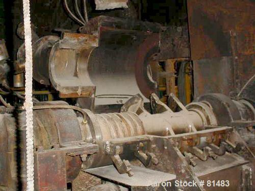 USED: 40 liter Draiswerk Gelmat intensive compounder. 50 lb batch based on 35 lb per cu ft material. Unit is direct connecte...