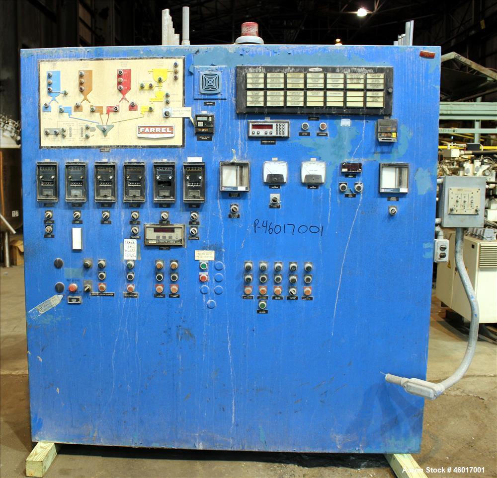 Used- Farrel Continuous Mixer, Model #9 FCM.
