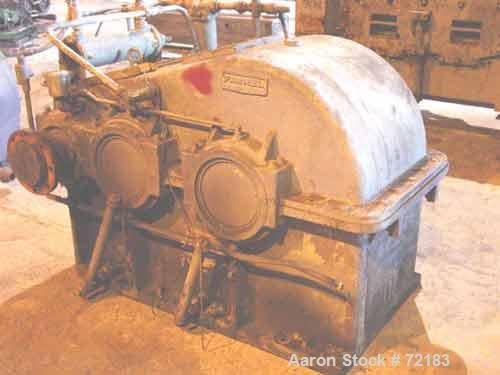 USED: Farrel continuous mixer, model #9FCM. Cored #15 style rotors with rotary unions, 1881 cu in mixing chamber. Rated appr...