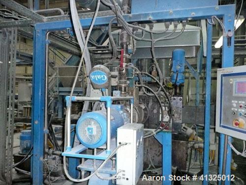 Used-Leistritz ZSE 135 Compounding Line.  Maximum capacity 4000 lbs (2000 kilos/h).  (2) Degassing zones.  (1) Vacuum pump. ...