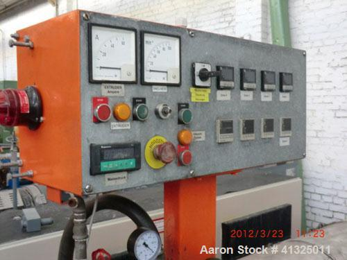 """Used-Leistritz ZSE 65 Counter-Rotating Twin Screw Compounder, 25 L/D.  Screw diameter 2.6"""" (67 mm).  Vacuum degassing.  (1) ..."""