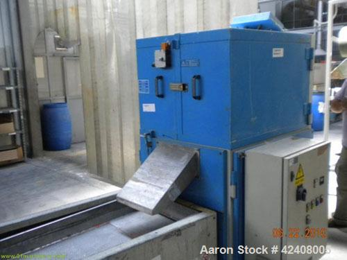 "Used- Maris TM40MW Compunding Line, comprised of a Maris co-rotating twin screw extruder, screw diameter 1.58"" (40 mm), L/D ..."