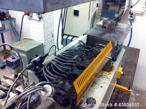 Used- Prism Laboratory Compounding Line consisting of:  (1) Prism 16 mm extruder, model TSE16C, approximately 24 to 1 L/D.  ...