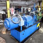 Used- Farrel Lab Banbury Mixer, Model BR. 2.6 lb. capacity, 96 cu. in. net volume of mixer chamber. Jacketed mixing chamber,...