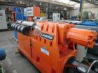 Used-Leistritz ZSE 65 Counter-Rotating Twin Screw Compounder, 25 L/D.  Screw diameter 2.6