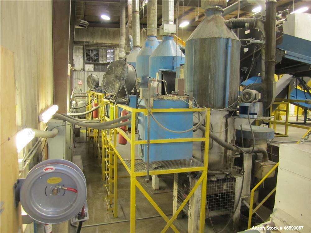 Used-Cal Sierra densifier unit, 250 hp motor, 575 VAC, W/EZ6 soft start system, s/n's n/a