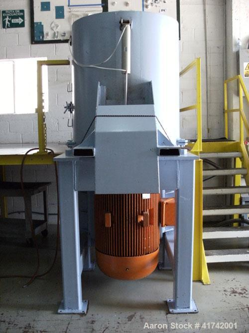 Used-Mullen Iron Works Densifier, Model BKEAA7SAA2088, mfg 1987. 460 volts, 245 amps, frame 147T, weight 2440 lbs, 200 hp di...