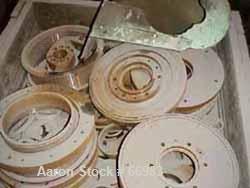 "USED: Pallman Plast-Agglomerator consisting of: 1 model PFV 250/40 agglomerator, carbon steel, 10"" inside diameter (11-1/4"" ..."
