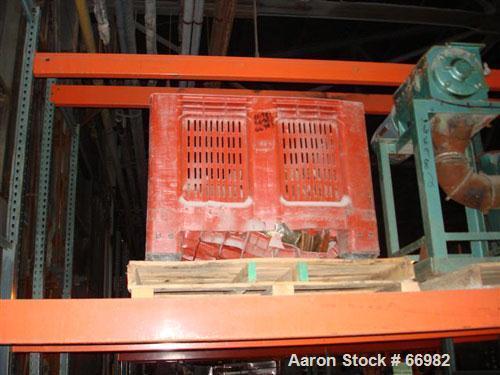 "USED: Pallman Plast-Agglomerator consisting of: 1 model PFV 250/60 agglomerator, carbon steel, 10"" inside diameter (11-1/4"" ..."