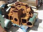 USED: Pallman Plast-Agglomerator consisting of: 1 model PFV 250/60 agglomerator, carbon steel, 10