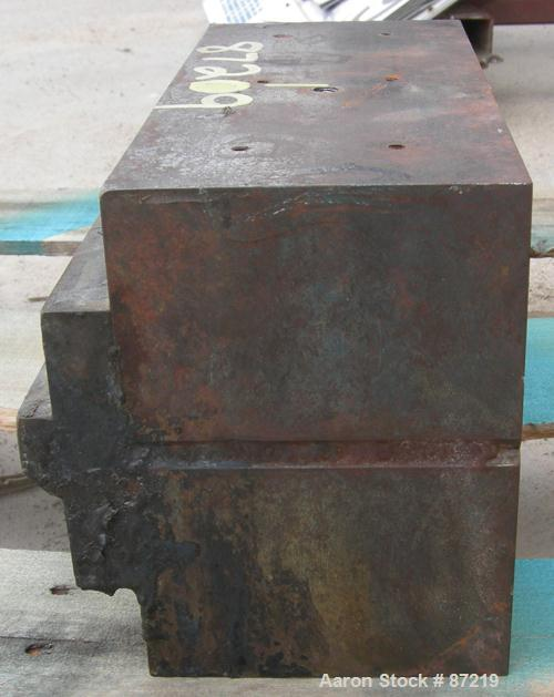 "USED: Approximately 30 hole strand die last used with 4-1/2"" extruder."