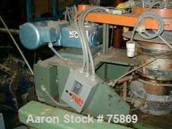 USED: Sano 2 layer oscillating die cart, driven by 0.5 hp motor and1500 ratio gearbox. Mfg 3/7/83.