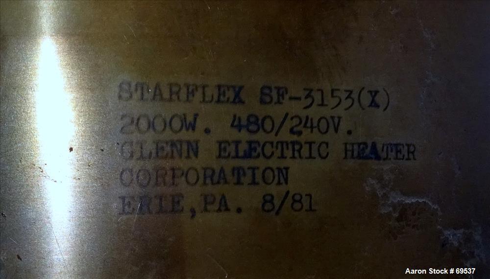 """Used- Sterling Approximately 5-1/2"""" Diameter Blown Film Die"""