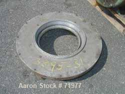 "USED: Victor 10"" single lip air ring, 11-1/2"" ID, 4 inlet ports."