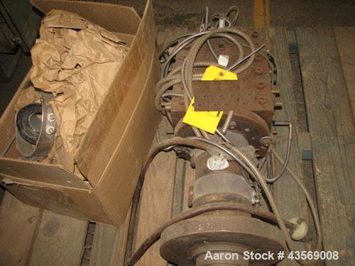 """Used- Approximately 6"""" Wide Plastic Lumber Extrusion Die"""