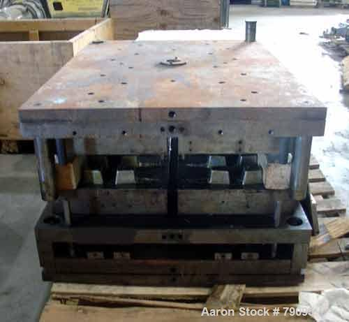 USED: Mold for injection molding machines.