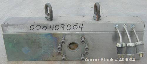 "Used- EDI 110 Hole Strand Die. 480 volt, 2 1/2"" back center feed."
