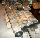 USED: (1) Lot of plastic lumber jacketed die sections. Last used making plastic lumber boards with a 4.5