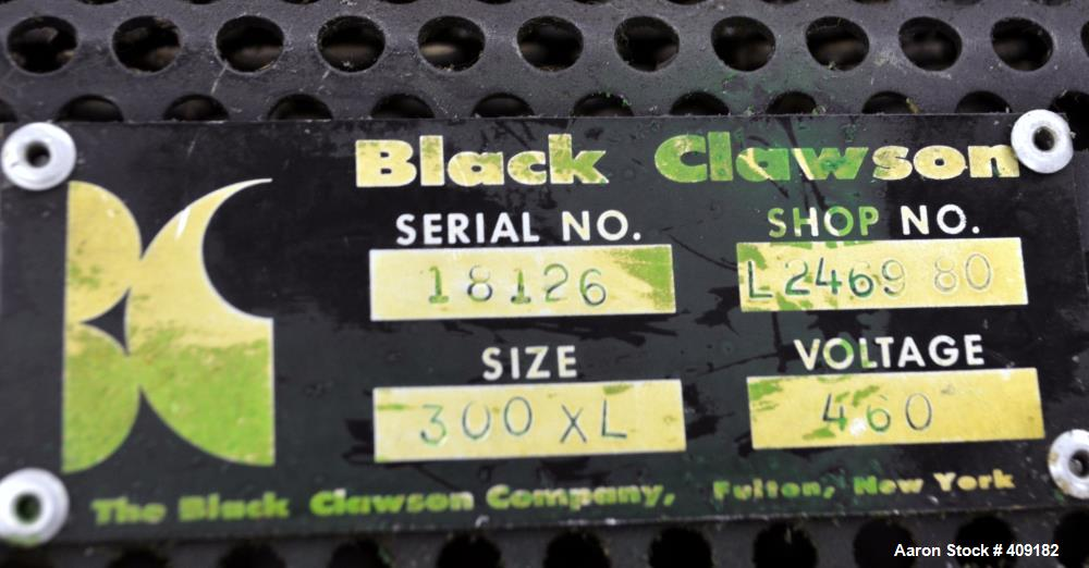 "Used- Black Clawson 40"" Wide Sheet Die, Size 300XL. Approximate 2"" back center feed. Serial# 18126, shop# 12469-80."