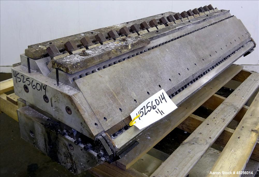 "Used- EDI Extrusion Dies 54"" Wide Ultraflex Sheet Die, Model HRC-75"