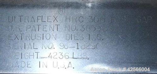 """Used- EDI 90"""" Wide Ultraflex Sheet Die, Type HRC300."""