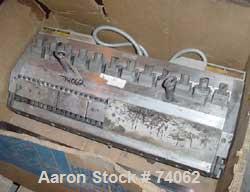 """USED:EDI Masterflex sheet die, 38"""" wide, model R/LD-75. Coat hangerdesign, 2"""" back center feed."""