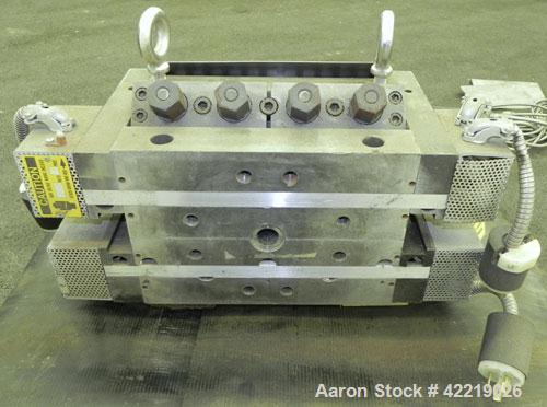 """Used- EDI 12"""" Wide Ultraflex Sheet Die, Model R75-2."""