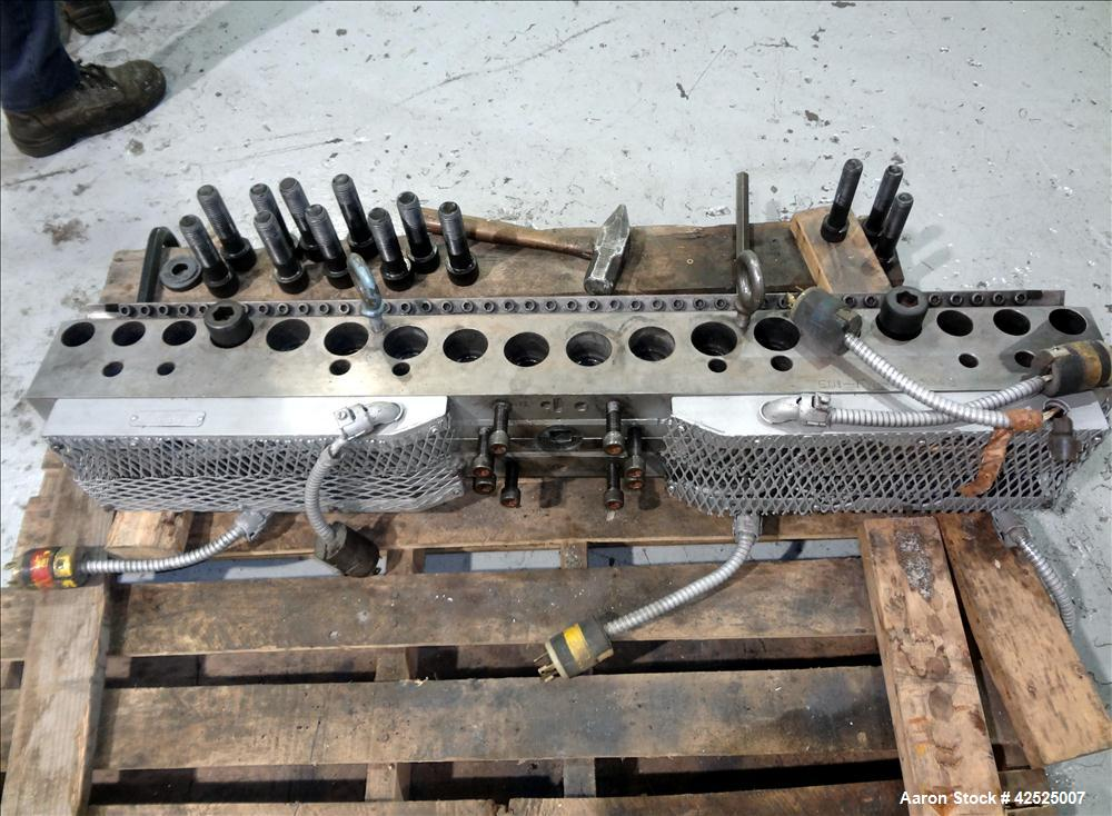 "Used-Used-EDI Sheet Die, 44"" length with 4"" center back feed. Serial number EDI-RW-73-5148"