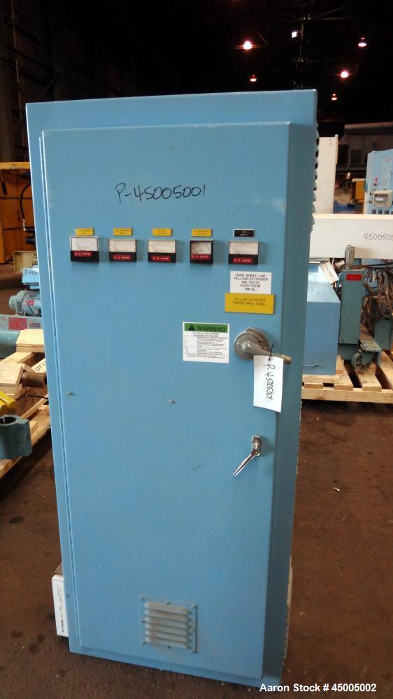 """Used- EDI Extrusion Dies 28"""" Wide Sheet Die. Equipped with a 45 degree restrictor bar."""