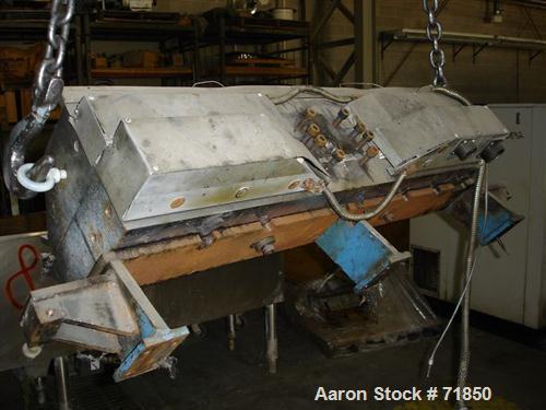 "Used: EDI 42"" wide autoflex sheet die, model H75"