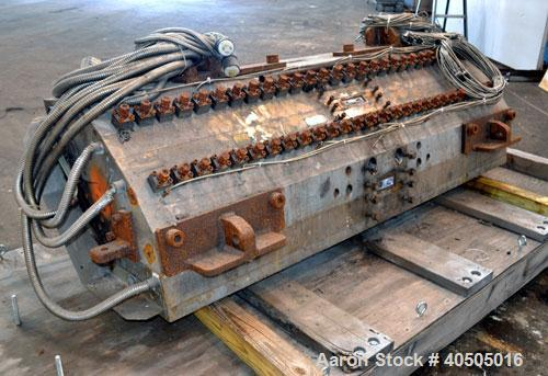 "Used- EDI 78"" Wide UltraFlex HRC100 Sheet Die with control panel. Built 2002."