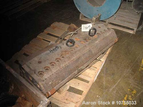 "Used-46"" Masterflex HD-100 Sheet Die. Job #5256-98, Welex part #0487, 1935. 1.5"" diameter rear material entrance, .025 to .1..."