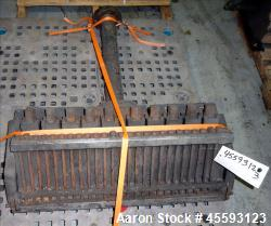 "Used- EDI 30"" Wide Restrictor Bar Sheet Die. Extended lip adjustment, back center feed. Serial# 82-7045, A.D.# 97-1114-01-R...."
