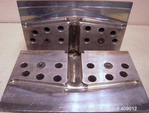 "Used- Sheet Die, Approximate 8-1/2"" wide. 15-5 PH Stainless steel. 1"" Back center feed."