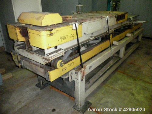 Used- Unicor Corrugator, Model UC3-65/55. 65 mm Maximum outer pipe diameter, 10 mm minimum inner pipe diameter, 55 moulds, 3...