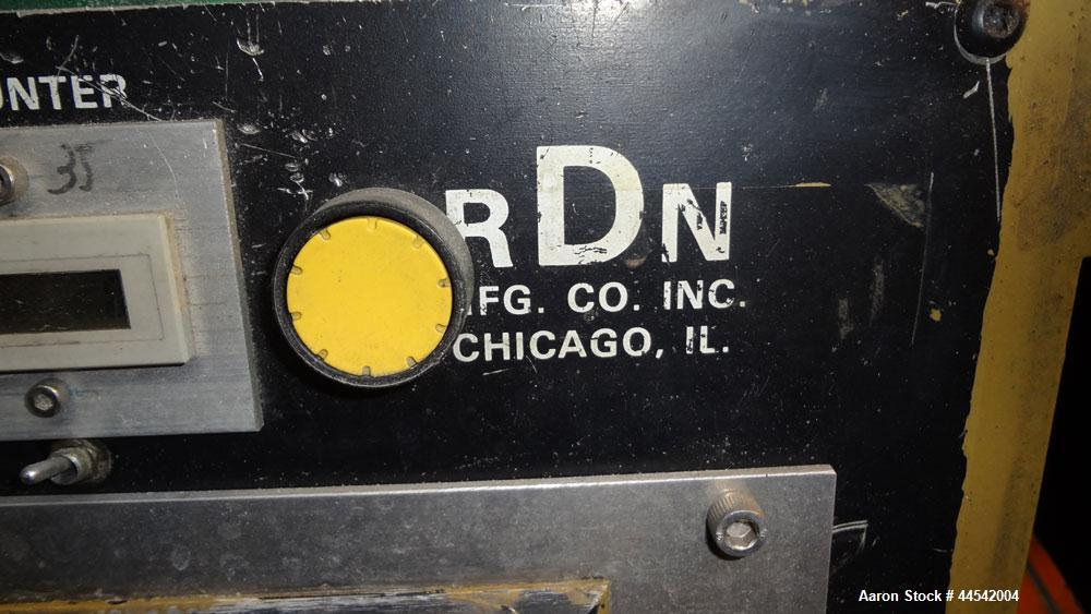Used- RDN Rotocut Fly Knife Cutter