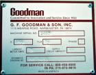 Used- Goodman Traveling Fly Knife Cutter, Model Med/1000