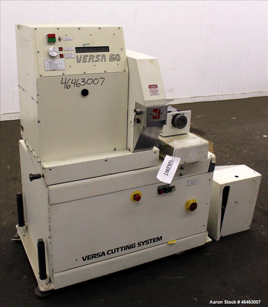 Used- Versa Machinery High Speed Flywheel Cutter, Model DAC 50/5021.