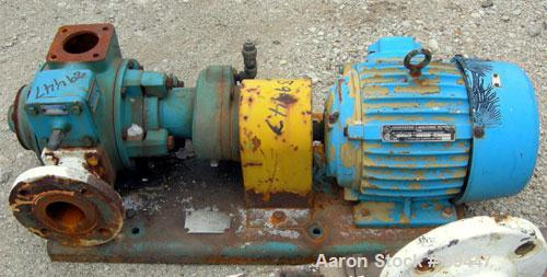 "Used- Blackmer Sliding Vane Pump, Model XL1.5A, Ductile Cast Iron. 2-1/2"" Inlet/outlet. Rated approximately 35 gallons per m..."