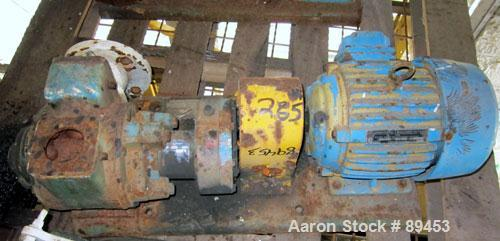 """Used- Blackmer Sliding Vane Pump, Model XL1.5A, Ductile Cast Iron. 2 1/2"""" Inlet/outlet. Rated approximately 35 gallons per m..."""