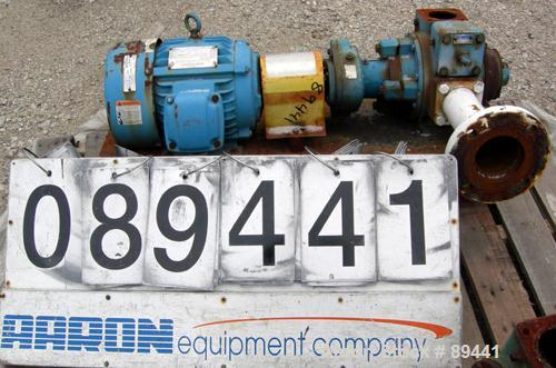 "Used- Blackmer Sliding Vane Pump, Ductile Cast Iron. 2-1/2"" Inlet/outlet. Rated approximately 35 gallons per minute at 100 P..."