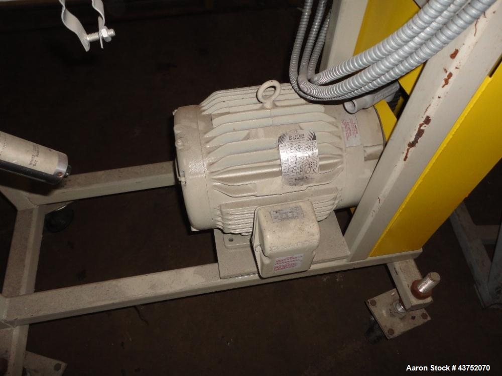 Used- Maag gear pump, model EXTREX 45/45, rated up to 300#/hour capacity at 300 f, 200-3500 PAS viscosity, 69 rpm, 1000 psi ...