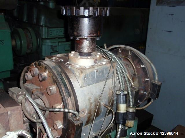 Used- Maag gear pump, model EXTREX, type 90/90, rated up to 350 bar discharge pressure, 350 degrees C max temperature, 30,00...