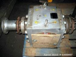 Used- MAAG Gear Pump Body, Type 110-4 STX