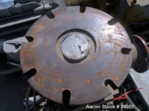 Used- Carbon Steel Normag Gear Pump, Model MJEP-240