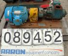 USED- Blackmer Sliding Vane Pump, Model XL1.5A, Ductile Cast Iron. 2 1/2