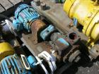 Used- One (1) Blackmer gear pump, model GSX2 1/24, carbon steel construction, 2.5