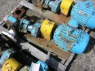 Used-One (1) used Blackmer gear pump, model GSX2 1/24, carbon steel construction, 2.5
