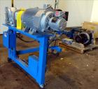 Used- LCI Gear Pump, Model ES90/90. Driven by a Marathon 40 hp, 190-380 volt, 3600 rpm motor with a Sew-Eurodrive 18.96:1 ge...