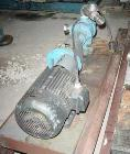 Used- Viking Pump, Model K724, Stainless Steel. Approximately 35 gallons per minute at 420 RPM, 2
